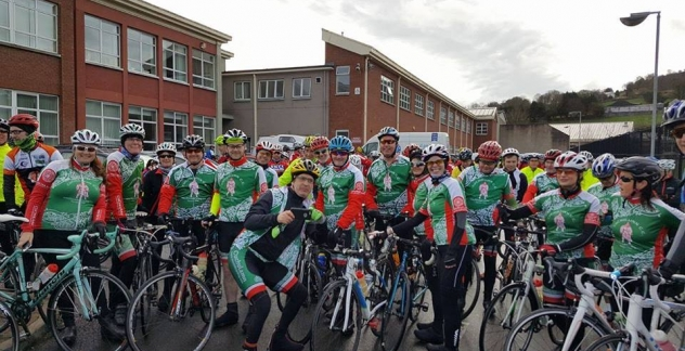 The Cuchulainn crew at the Spring 66 Cycle