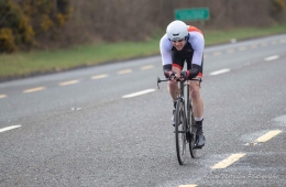 Liam Dolan in action in the Brefini Wheelers 10mile Time Trial